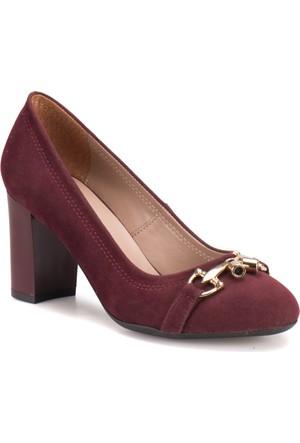 Butigo A4161029 Bordo Kadın Ayakkabı