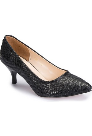 Polaris 62.307282Yz Siyah Kadın Stiletto