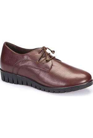 Polaris 5 Nokta 62.109126.Z Kahverengi Kadın Deri Ayakkabı