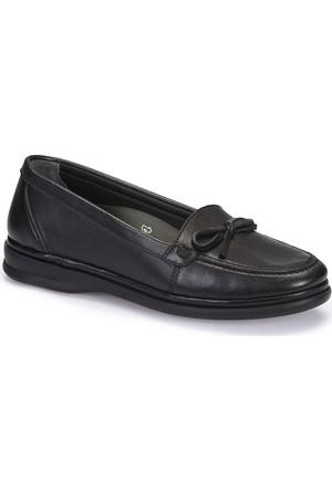 Polaris 5 Nokta 62.109076.Z Siyah Kadın Deri Ayakkabı