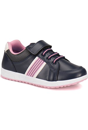 Torex 9315010 Lacivert Pembe Kız Çocuk Sneaker