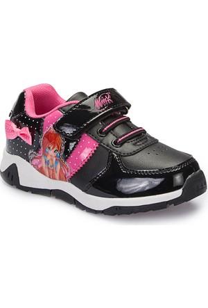 Winx A3360832 Siyah Kız Çocuk Sneaker