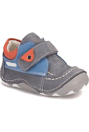 Yellow Kids 669-04 Gri Mavi Erkek Çocuk Sneaker