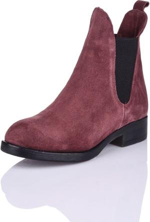 Bueno H706 Bordo Günlük Ayakkabı