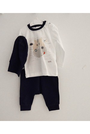 Wogi Baby 7207 Bebek Alt Üst Takımı