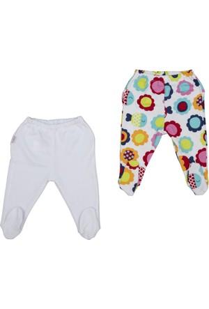 Bebepan 1743 Mrs. Fish 2'li Patikli Kız Bebek Pantolon