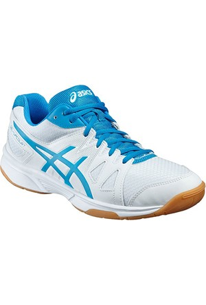 Asics B400N-0143 Gel Upcourt Voleybol-Badminton Ayakkabısı Renkli Bağcık
