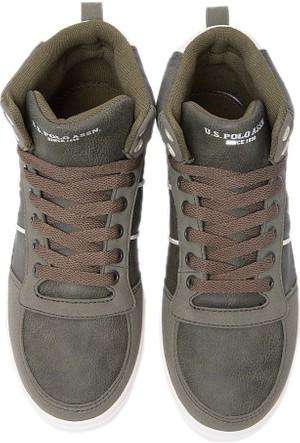 U.S. Polo Assn. Kadın Yeşil Ayakkabı K6Uspy118