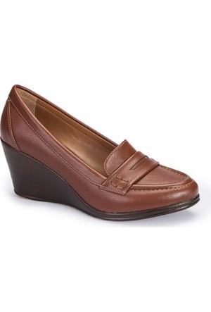 Polaris 62.156936.Z Taba Kadın Loafer Ayakkabı