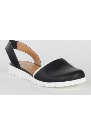 Markazen Bayan Sandalet Ayakkabı - Siyah