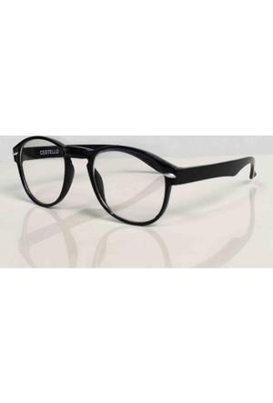 Moda Roma Siyah Çerçeveli Gözlük