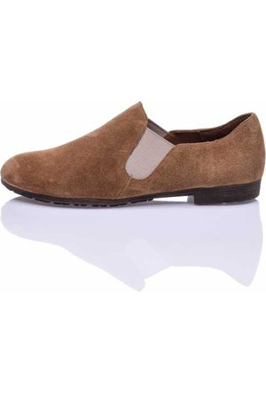 Bueno Taba Nubuk Chelsea Bayan Ayakkabı