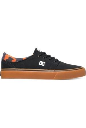 Dc Trase Jh M Shoe Black Black Orange Ayakkabı