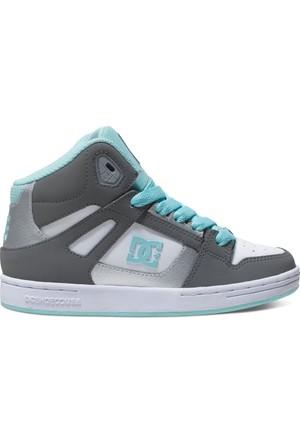 Dc Rebound G Shoe Dk Grey Blue White Ayakkabı