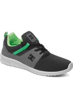 Dc Heathrow M Shoe Black Grey Green Ayakkabı