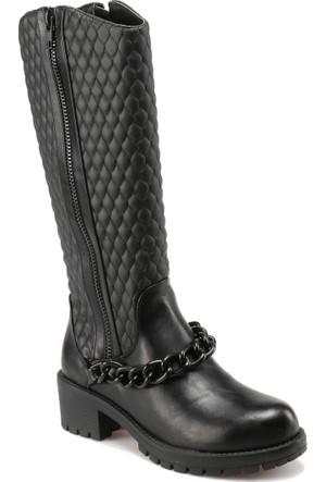 Art Bella C17014 Siyah Kadın Çizme