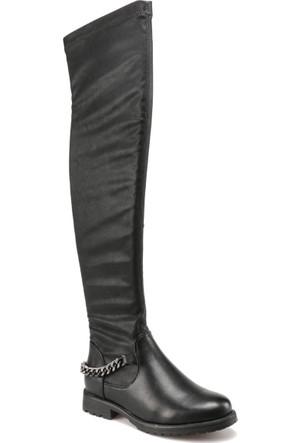 Art Bella C17067 Siyah Kadın Çizme