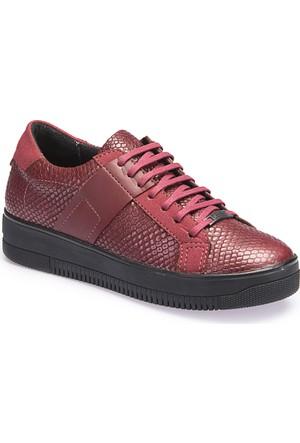 Dockers By Gerli A3365701 Bordo Kadın Ayakkabı