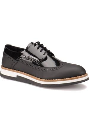 Jj-Stiller Sgr-301 M 6686 Siyah Erkek Deri Modern Ayakkabı