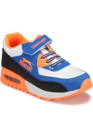 Slazenger Flex Neon. Beyaz Turuncu Unisex Çocuk Sneaker