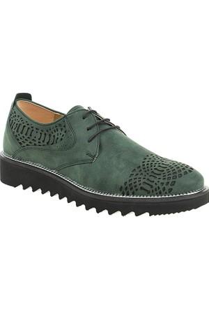 Derigo Erkek Klasik Ayakkabı Yeşil 50340