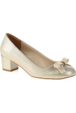 Derigo Kadın Topuklu Ayakkabı Altın 2818243