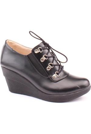 Crista 4000 Günlük Süet Dolgu Taban 7 cm Bayan Ayakkabı