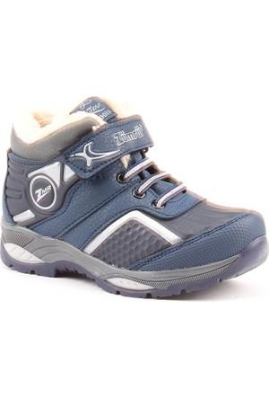 Zümrüt 2704 L İçi Termal Kürklü Erkek Çocuk Spor Bot Ayakkabı