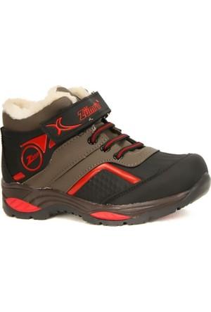 Zümrüt 2704 K İçi Termal Kürklü Erkek Çocuk Spor Bot Ayakkabı