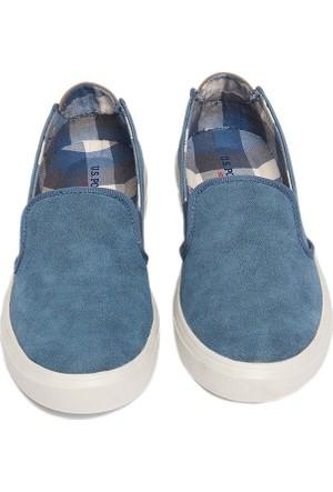 U.S. Polo Assn. K6Calla Kadın Ayakkabı Mavi 50154907-320