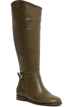 U.S. Polo Assn. K6Brooklyn Kadın Çizme Yeşil 50155065-790