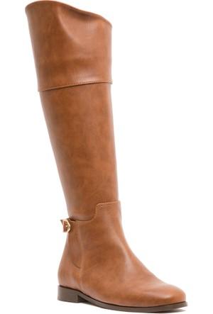 U.S. Polo Assn. K6Brooklyn Kadın Çizme Krem 50155065-880
