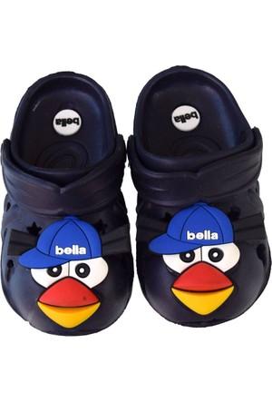 Bella Erkek Çocuk Kapalı Terlik Sandalet Lacivert