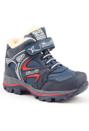 Zümrüt 2700-L İçi Termal Kürklü Erkek Çocuk Spor Bot Ayakkabı