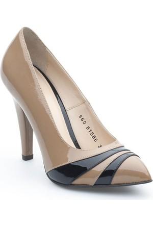 Pedro Camino Kadın Ayakkabı Vizon-Siyah