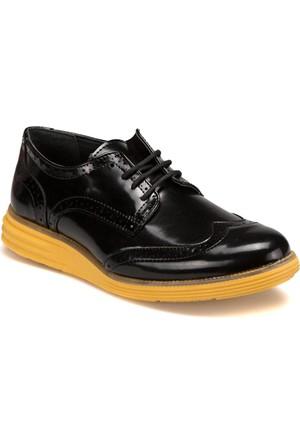 Jj-Stiller 61123-1 M 6693 Siyah Sarı Erkek Ayakkabı