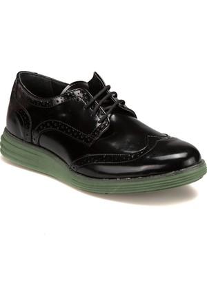 Jj-Stiller 61123-1 M 6693 Siyah Yeşil Erkek Ayakkabı