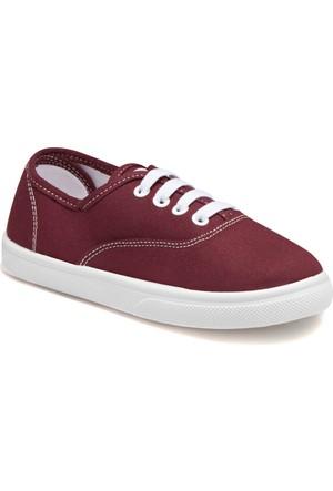 Kinetix A1290405 Bordo Beyaz Erkek Çocuk Sneaker