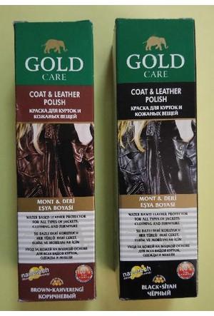Gold Care Mont ve Deri Eşya Boyası 100 ml Kahverengi