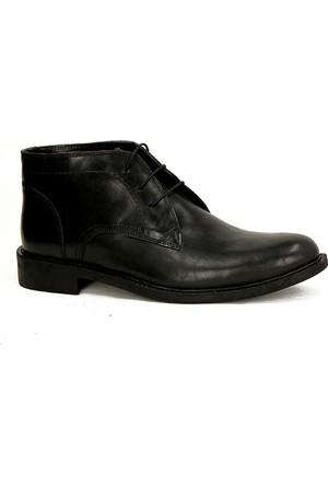 Fecri Hüner 104 %100 Deri Kışlık Erkek Bot Ayakkabı