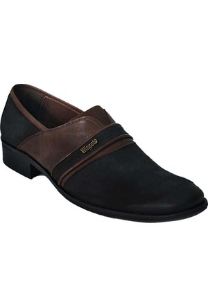 Winssto 1050 Deri Erkek Ayakkabı Siyah