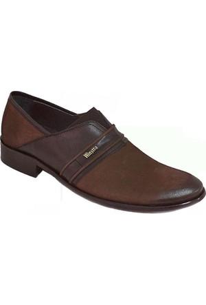 Winssto 1050 Deri Erkek Ayakkabı Kahverengi