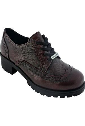 Mammamia D16Ka-15 Kadın Günlük Ayakkabı Bordo