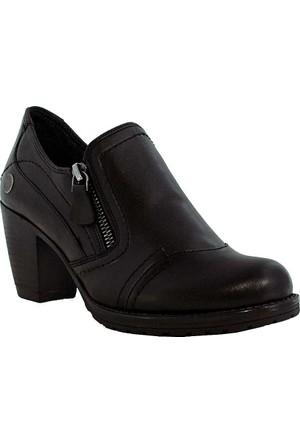 Mammamia D17Ka-3035 Deri Kadın Ayakkabı Siyah