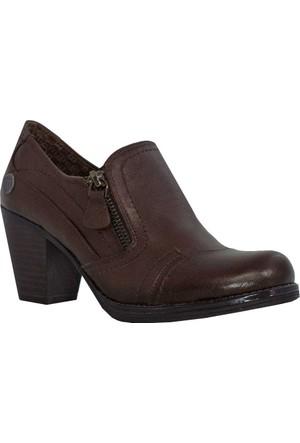 Mammamia D17Ka-3035 Deri Kadın Ayakkabı Kahverengi