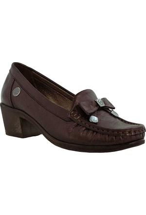 Mammamia D17Ka-525 Deri Kadın Ayakkabı Bronz