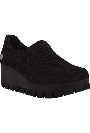 Mammamia D17Ka-705 Deri Kadın Ayakkabı Siyah