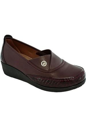 Swift Clavi 1924 Günlük Kadın Ayakkabı Bordo