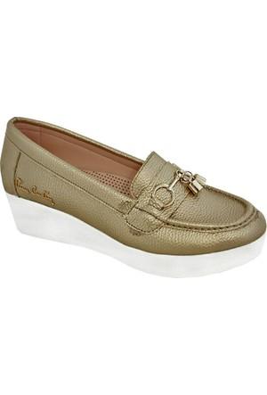 Pierre Cardin 70071 Kadın Ayakkabı Altın