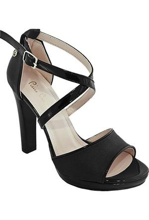 Pierre Cardin 1002 Kadın Ayakkabı Siyah